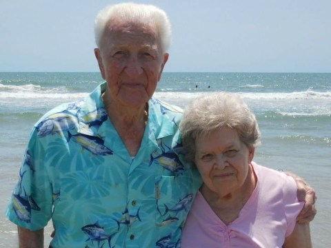 Elderly couple die side-by-side after 64 years of marriage