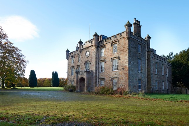 Massive 12-bedroom castle in Highlands goes on market for
