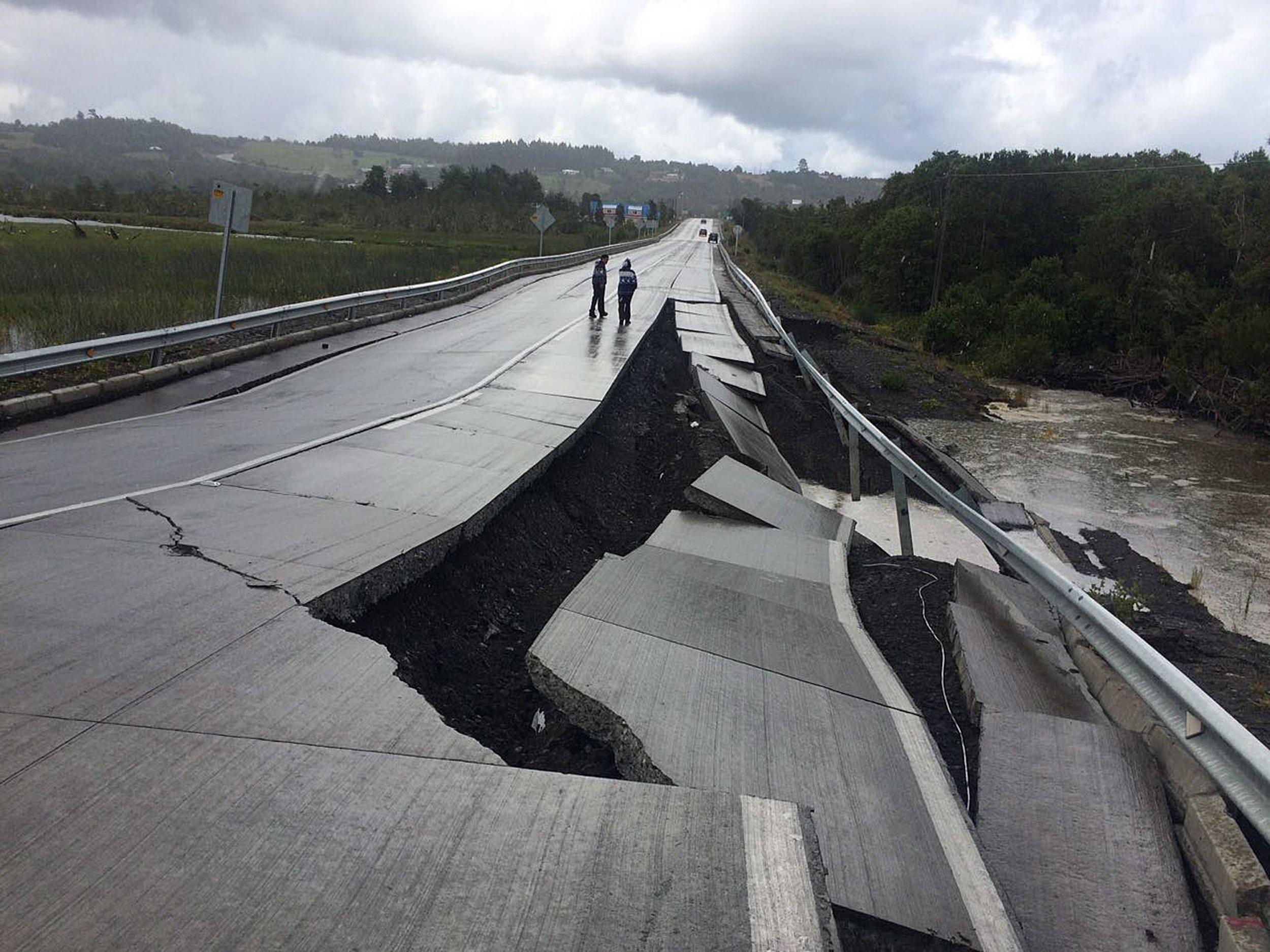 Tsunami warning after massive earthquake strikes off Chile on Christmas Day