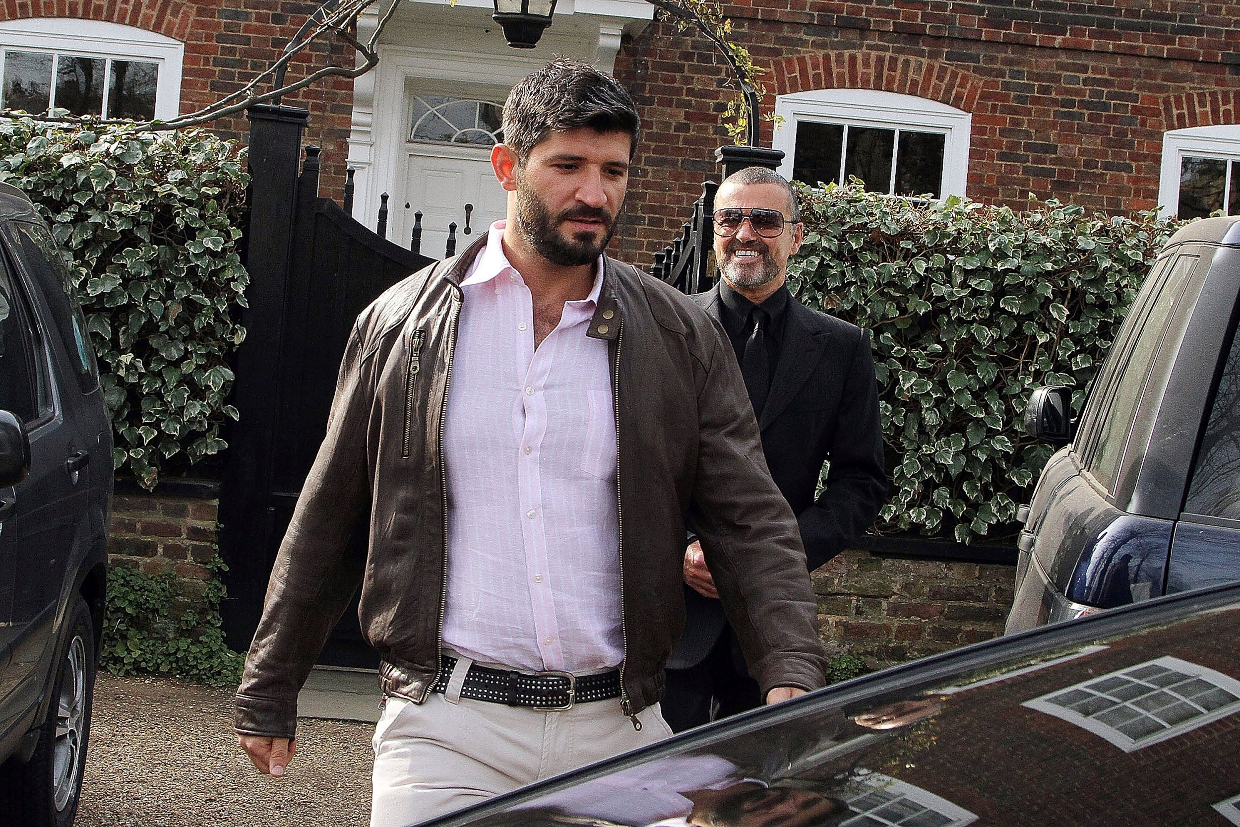 George Michael's boyfriend pays tribute (Getty) LONDON, UNITED KINGDOM - MARCH 14: George Michael and Fadi Fawaz are seen on March 14, 2012 in London, United Kingdom. (Photo by JJ/ROCHAS/Bauer-Griffin/GC Images)