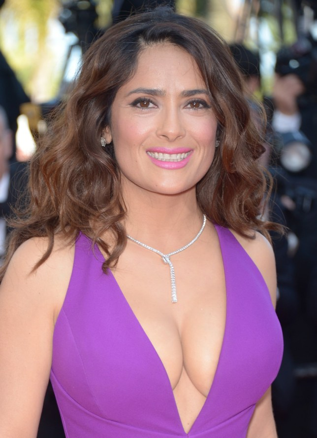 """Charles uni study CANNES, FRANCE - MAY 17: Salma Hayek attends the """"Rocco And His Brothers"""" Premiere during the 68th annual Cannes Film Festival on May 17, 2015 in Cannes, France. (Photo by Dominique Charriau/WireImage)"""