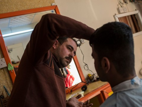 Powerful pictures show people getting back to business after ISIS conflict in Northern Iraq
