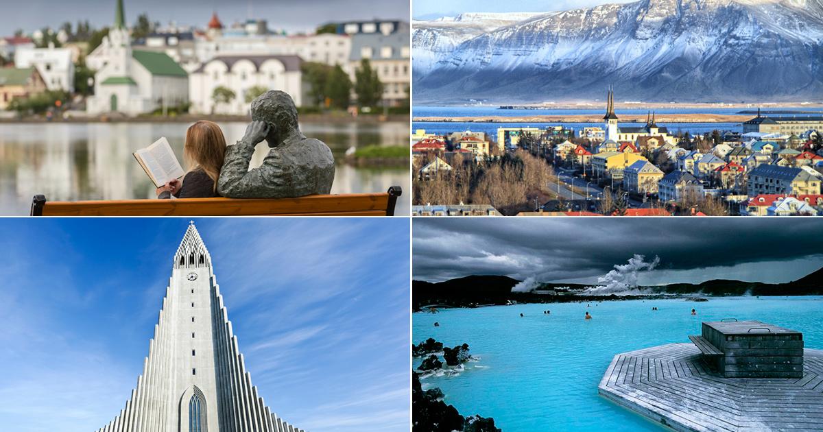 Scenes in Reykjavik