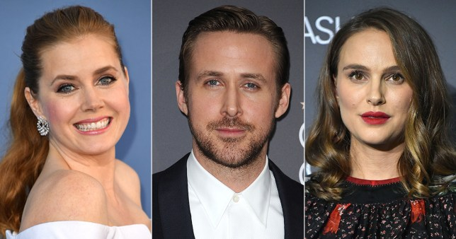 The 23rd Screen Actor's Guild Award nominees includes Amy Adams, Ryan Gosling, Natalie Portman (Picture: Getty Images)
