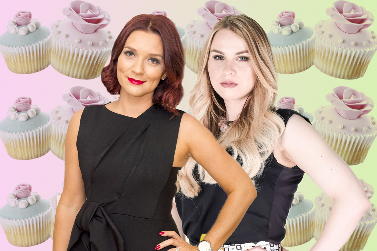 The Apprentice winner Alana Spencer and Great British Bake Off's Candice Brown are planning a collaboration