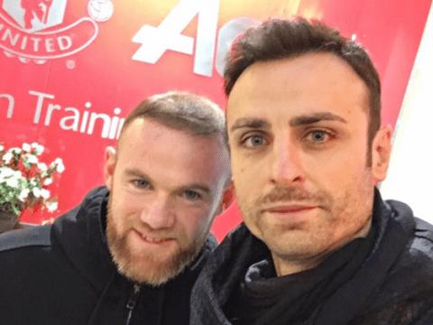 Dimitar Berbatov confirms Manchester United return in photo with Wayne Rooney
