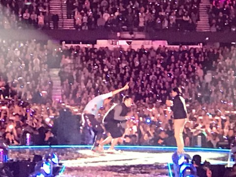 Chris Martin stops Coldplay gig for a marriage proposal – but pulls the wrong woman on-stage