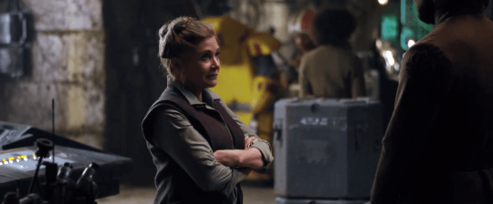 The Star Wars actress died after suffering a heart attack on a flight from London to LA (Picture: Lucasfilm)