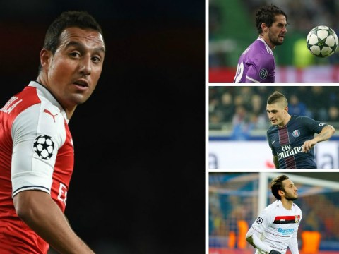 Five replacements Arsenal could bring in after Santi Cazorla injury