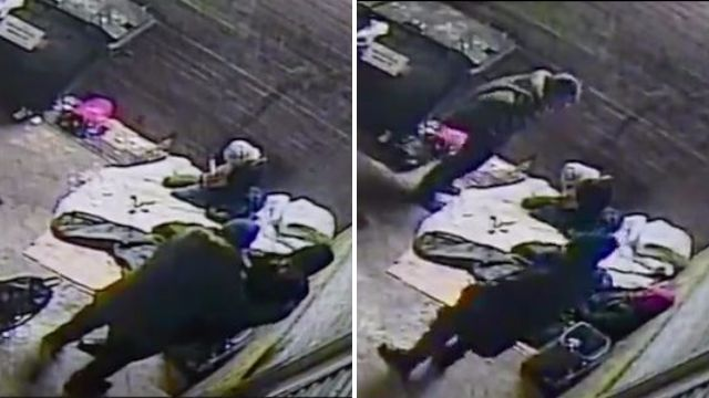 Thief went through homeless man's pockets as he lay dying