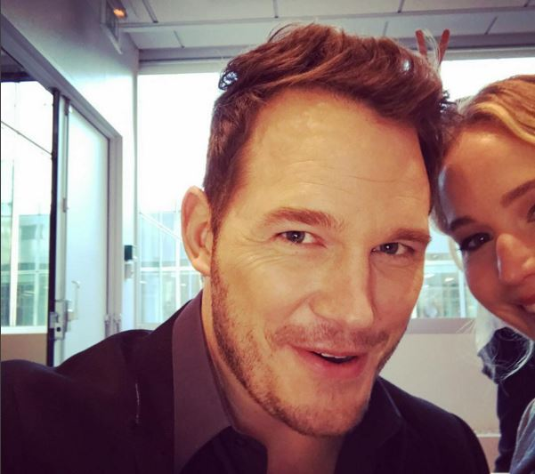 Chris Pratt has been cutting out Jennifer Lawrence like a pro on Instagram (Picture: Instagram)