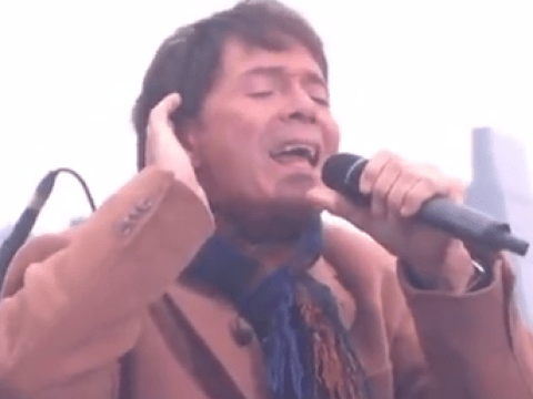 2016 gets another blow as Cliff Richard is accused of miming Mistletoe and Wine on This Morning