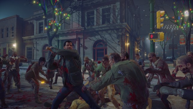 Dead Rising 4 - zombies beat arty-farty griffons