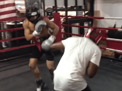 Video: David Haye commentates on friendly sparring match between Dizzee Rascal and Chris Eubank Jnr