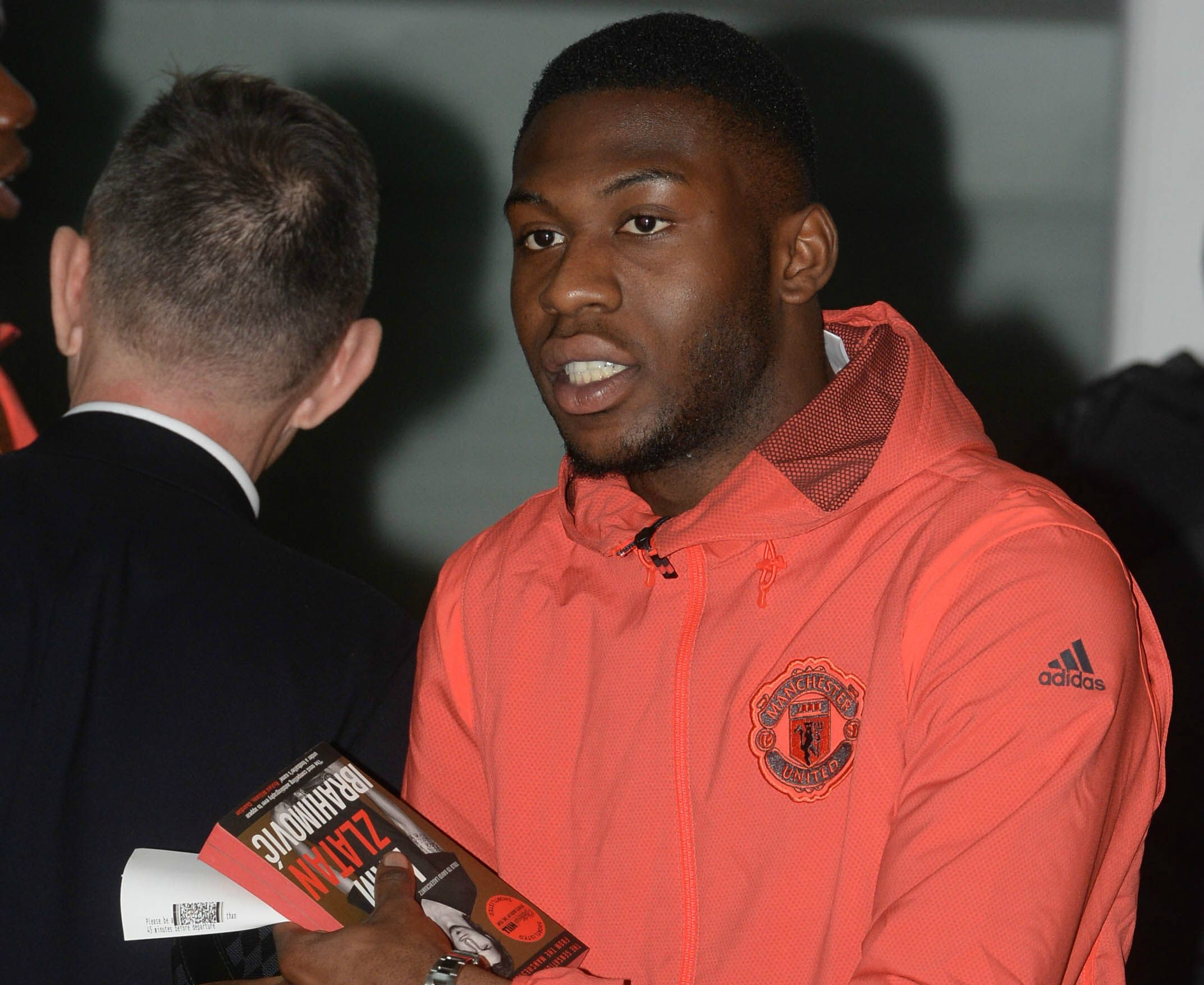 Manchester United star Timothy Fosu-Mensah spotted clutching Zlatan Ibrahimovic's autobiography