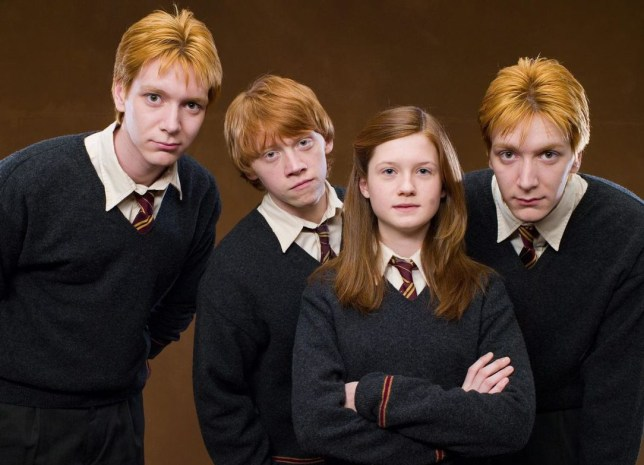 JK Rowling almost put a Weasley in Slytherin — and it wasn't Percy