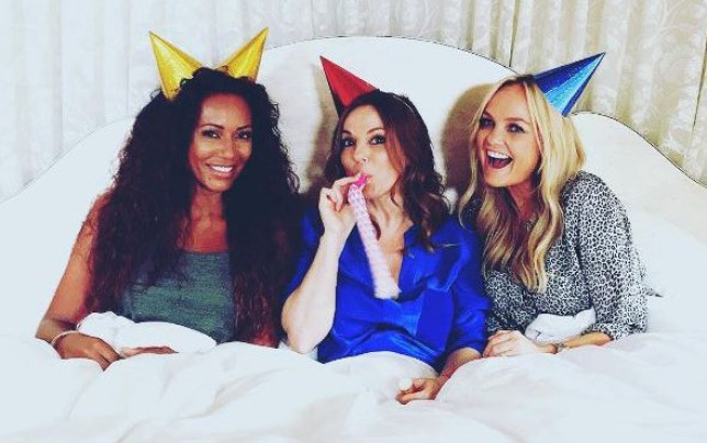 Geri, Emma and Mel B are now GEM (Picture: Instagram)