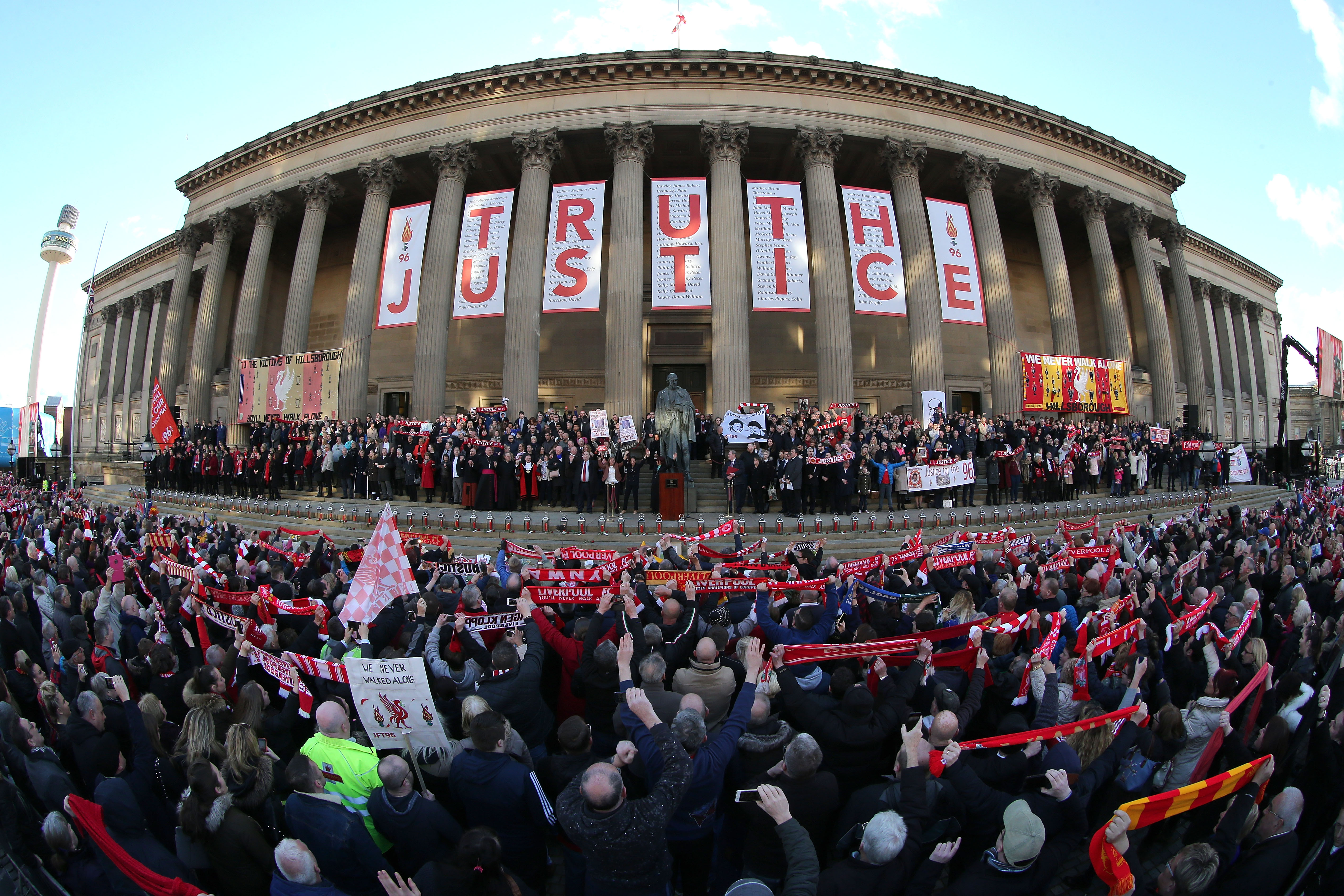 Hillsborough suspects could face criminal charges after files passed to CPS