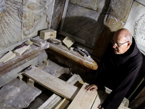 Christ's tomb opened for first time in over 450 years