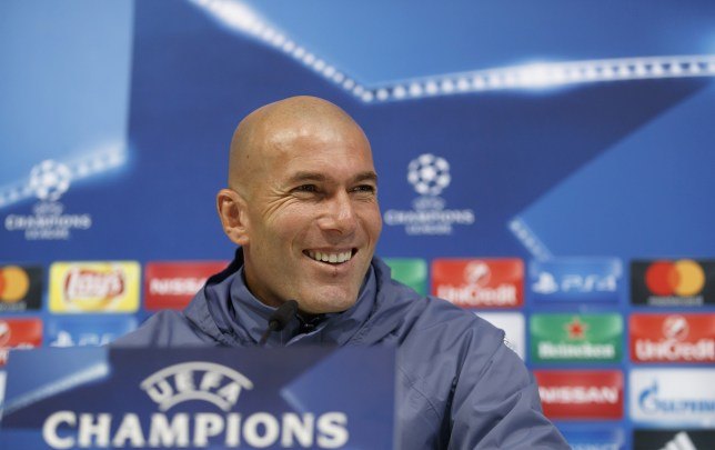 MADRID, SPAIN - DECEMBER 06:  Head coach Zinedine Zidane of Real Madrid attends a press conference at Valdebebas training ground on December 6, 2016 in Madrid, Spain.  (Photo by Angel Martinez/Real Madrid via Getty Images)