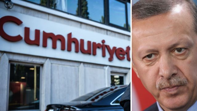 Cafeteria manager arrested for 'saying he wouldn't serve Turkish president'