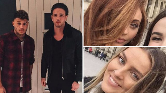 Jesy Nelson spotted on 'double date' with Little Mix bandmate Perrie Edwards in Paris