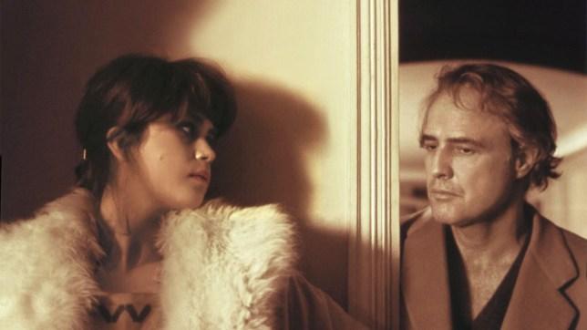Maria Schneider and Marlon Brando (Picture: Produzioni Europee Associati)