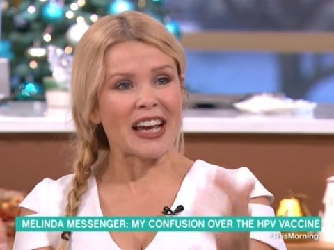 This Morning's Doctor Chris slams Melinda Messenger for publically expressing opinion on HPV vaccine