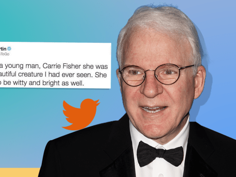 Calling out Steve Martin for his 'sexist' Carrie Fisher tweet was totally uncalled for