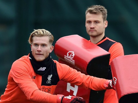 Liverpool star Simon Mignolet posts social media update following Loris Karius' mistake against West Ham