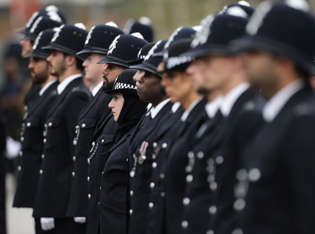 Police recruits will have to be educated to degree level in the future (Picture: PA)