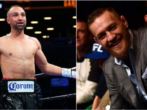 Paulie Malignaggi becomes first boxer to call out Conor McGregor after UFC star obtained license