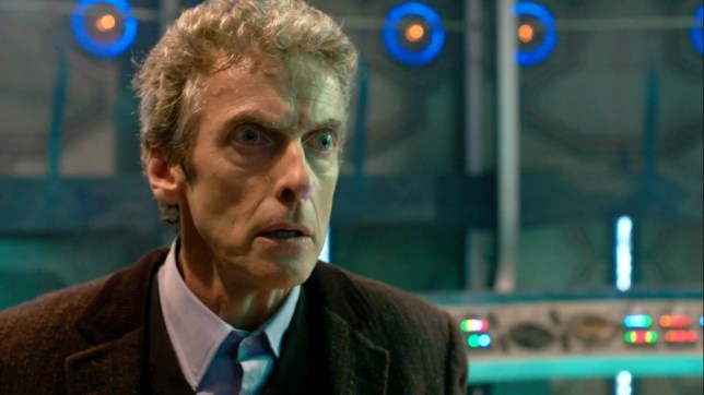 Peter Capaldi isn't giving up Doctor Who anytime soon (Picture: BBC)
