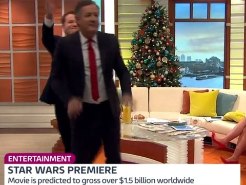 Richard Arnold just slapped Piers Morgan on the head on live TV – over Star Wars