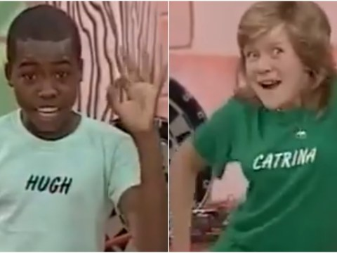 This clip of deliriously happy kids on an 80s TV show has torn a new hole in the internet