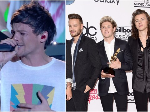 One Direction attended X Factor to see bereaved Louis Tomlinson perform his debut single