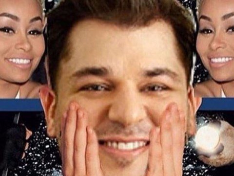 Rob Kardashian posted a series of memes to 'cheer himself up' after Blac Chyna left him with their baby