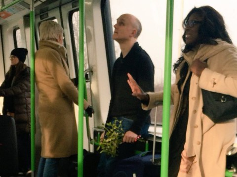 People are losing it over this real-life Love Actually moment