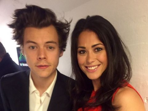 Sam Quek blasted for 'insensitive' selfie with a grieving Harry Styles taken backstage at the X Factor