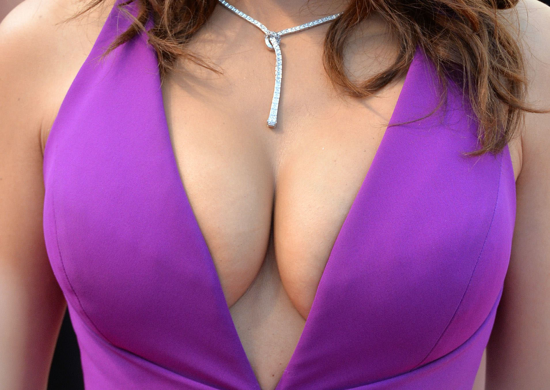 Having huge tits is no picnic, but I'm making my peace with them