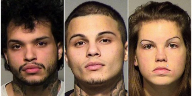 Three suspects have been charged with his murder (Picture: Milwaukee County Sheriff's Office)