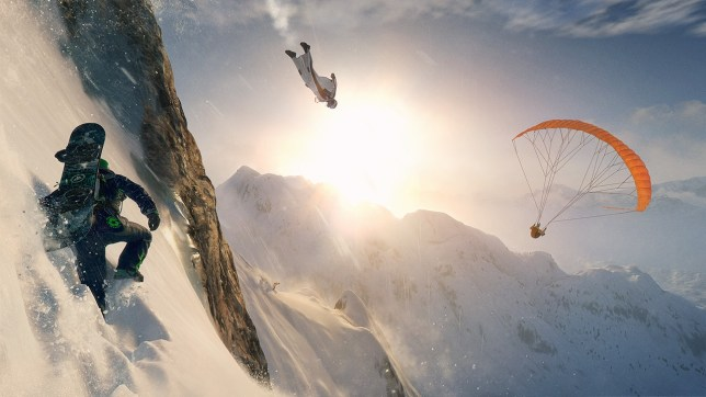 Steep (PS4) - it's tricky