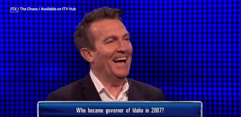 The Chase have done it again as a rude question makes Bradley Walsh burst out laughing