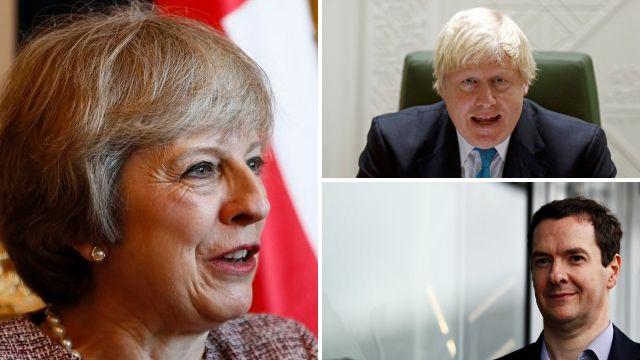 Theresa May is 'plotting to replace Boris Johnson with George Osborne'