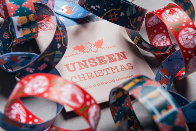 Christmas Paper Chains Uk.Unseen Have Made Paper Chains That Have Very Hidden Messages