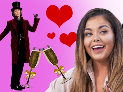 Scarlett Moffatt plans Willy Wonka wedding, boob job and caravan for her dad with I'm A Celeb earnings