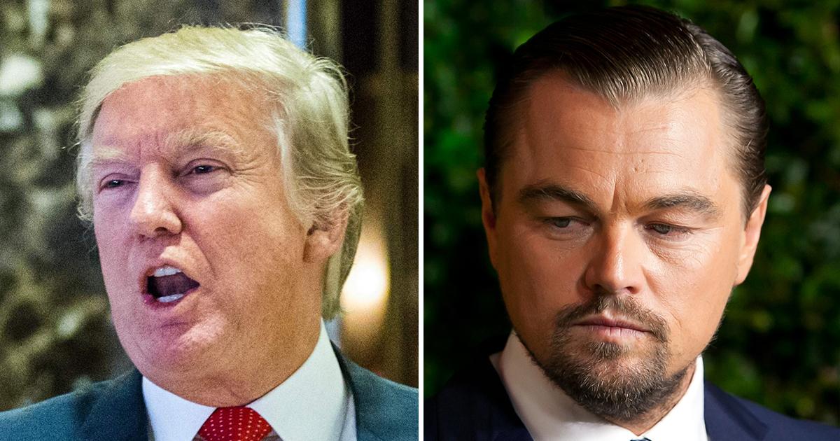 Leonardo DiCaprio meets Donald Trump to discuss climate change