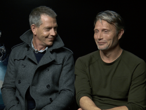 Rogue One's Ben Mendelsohn and Mads Mikkelsen reveal how everyone lost their s**t around Darth Vader