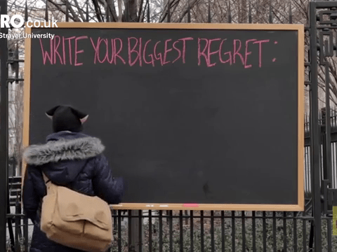 Your regrets could make you a happier person in 2017