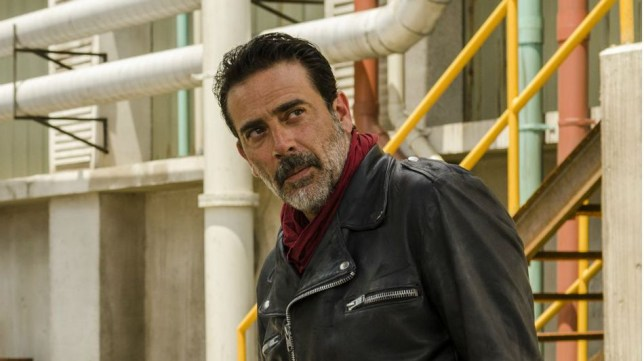 Expect to see more of Negan in 2017 (Picture: Fox)